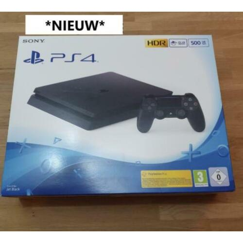 NIEUW: Playstation 4 Slim 500GB of 1TB + controller + bon!