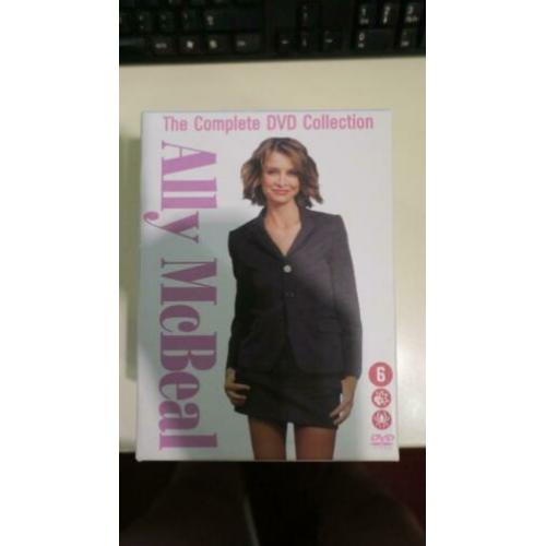 Ally mcbeal - the complete dvd collection komplete box set.
