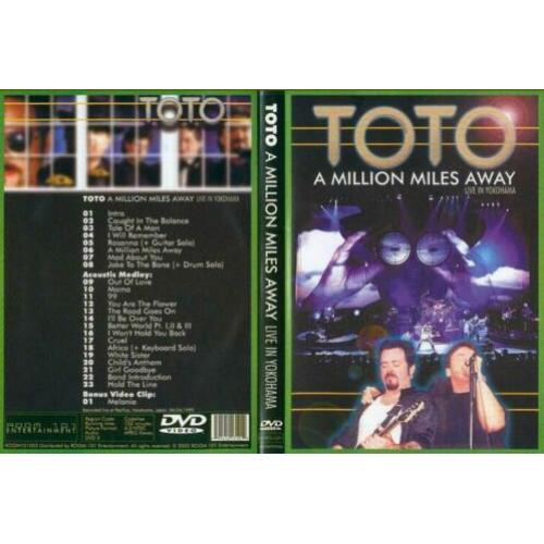 Toto dvd live in yokohama, japan 1999