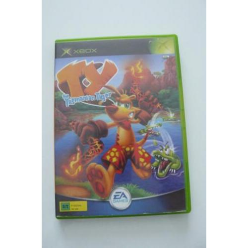 XBox The Tasmanian Tiger Game