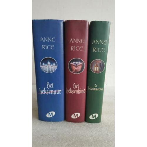 Anne rice - de heksen van mayfair -hardcovers met stofomslag