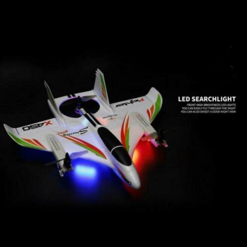 Fast RC Helikopter Vliegtuig Drone All-In-One VTOL. RTF 6-CH