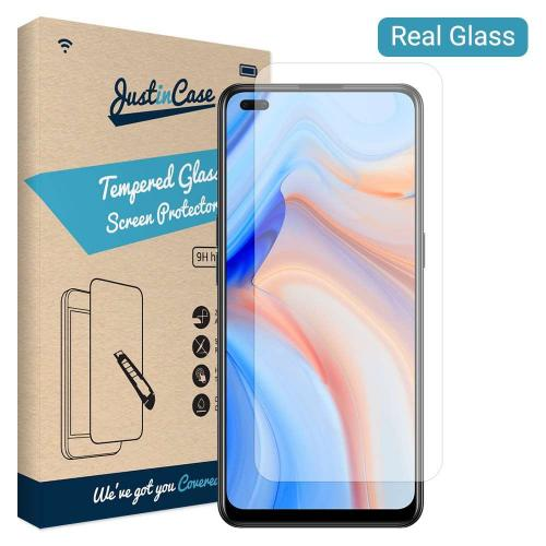 Just in Case OPPO Reno4 Pro Tempered Glass Screenprotector